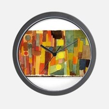 Paul Klee In The Style Of Kairouan Wall Clock