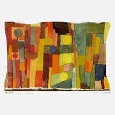 Paul Klee In The Style Of Kairouan Pillow Case