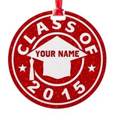 Class Of 2015 Graduation Ornament