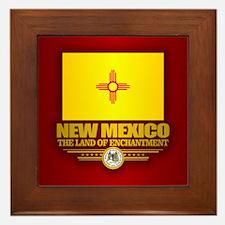 New Mexico (v15) Framed Tile
