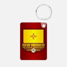 New Mexico (v15) Keychains