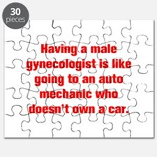 Having a male gynecologist is like going to an aut