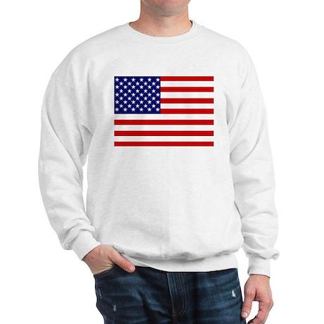 Patrtiotic American Flag Sweatshirt