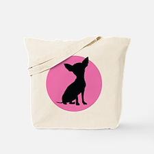 Polka Dot Chihuahua - Tote Bag