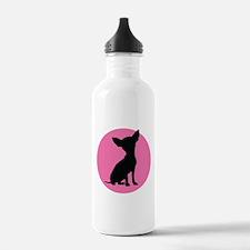 Polka Dot Chihuahua - Water Bottle