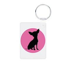 Polka Dot Chihuahua - Keychains