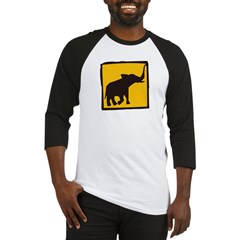 Elephant Crossing Baseball Jersey