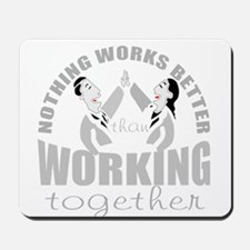 total teamwork Mousepad