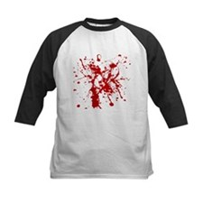 Red Splatter Baseball Jersey