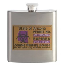 Zombie License Flask