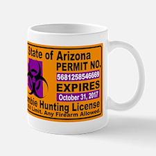 Zombie License Mugs