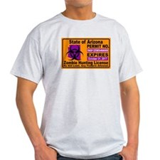 Zombie License T-Shirt