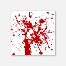 Red Splatter Sticker
