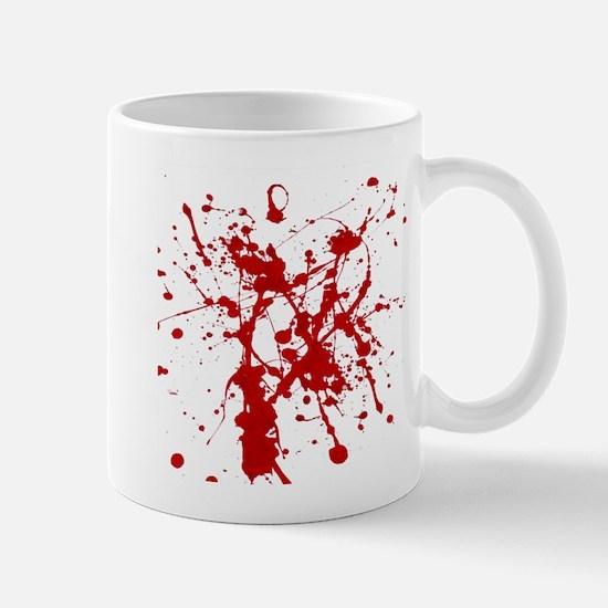 Red Splatter Mugs