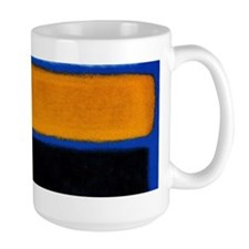 ROTHKO blue orange blank Mugs