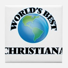 World's Best Christiana Tile Coaster