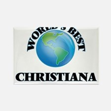 World's Best Christiana Magnets