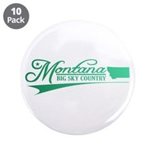 """Montana State of Mine 3.5"""" Button (10 pack)"""