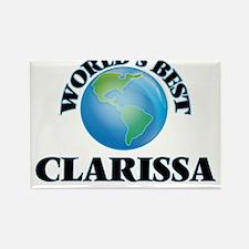 World's Best Clarissa Magnets