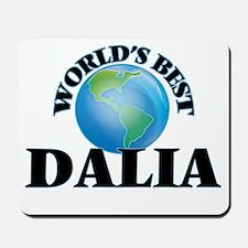 World's Best Dalia Mousepad