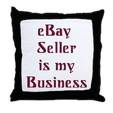 eBay Throw Pillow