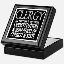 CLERGY Keepsake Box