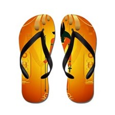 Anubis Flip Flops