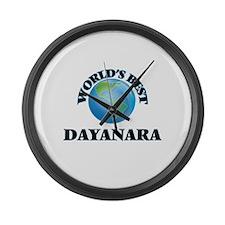 World's Best Dayanara Large Wall Clock