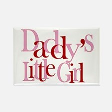 Daddy's Little Girl Rectangle Magnet