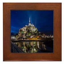 Mont Saint Michel Framed Tile