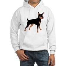 Cartoon Miniature Pinscher Hoodie