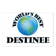 World's Best Destinee Postcards (Package of 8)