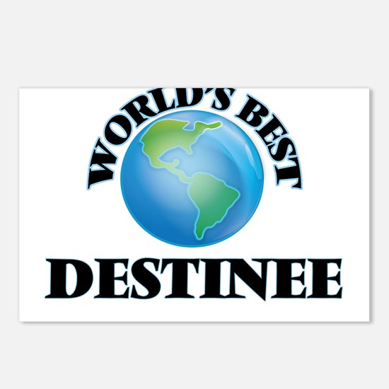 World's Best Destinee Postcards (Package of 8)