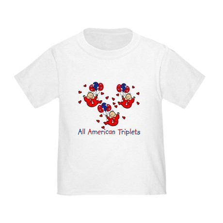 All American Triplets Toddler T-Shirt