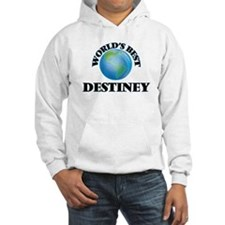 World's Best Destiney Hoodie Sweatshirt