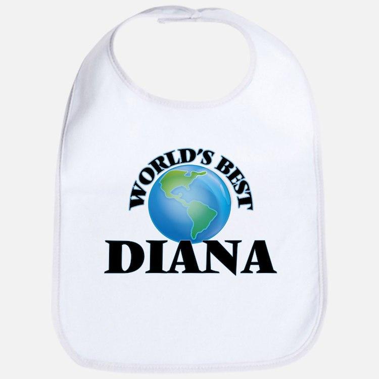 World's Best Diana Bib