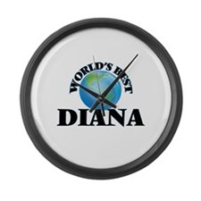 World's Best Diana Large Wall Clock