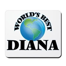 World's Best Diana Mousepad