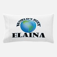 World's Best Elaina Pillow Case