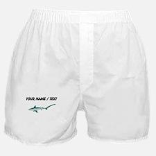 Custom Thresher Shark Boxer Shorts