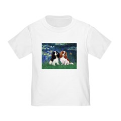 Lilies (5) & Cavalier Pair Toddler T-Shirt