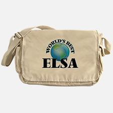 World's Best Elsa Messenger Bag
