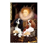 The Queens Cavalier Pair Postcards (Package of 8)