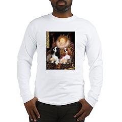 The Queens Cavalier Pair Long Sleeve T-Shirt