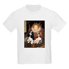 The Queens Cavalier Pair Kids Light T-Shirt