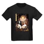 The Queens Cavalier Pair Kids Dark T-Shirt