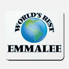 World's Best Emmalee Mousepad
