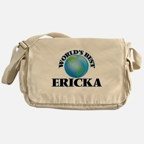 World's Best Ericka Messenger Bag