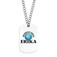 World's Best Erika Dog Tags
