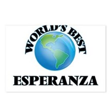 World's Best Esperanza Postcards (Package of 8)